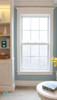 DIY:How To Add Trim Moulding To Your Windows - excellent ...