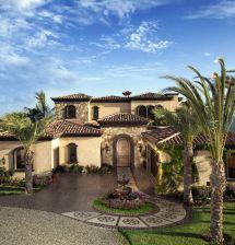 Mediterranean Home Style Tuscan House