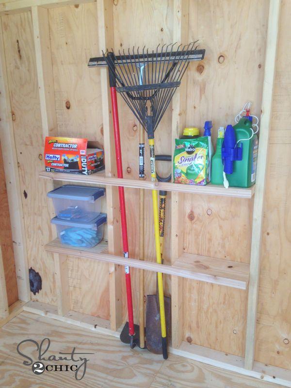 Shed Organization Idea Storage Sheds Shed Organization And