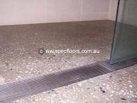 polished concrete shower floor - Google Search | Polished ...