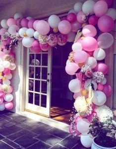 beautiful bridal shower ideas you  ll want to steal diy st birthday decorationsbaby balloon also low key rh pinterest