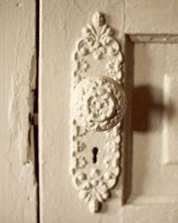 8x10 Vintage Door Shabby Chic French Decor Boudoir Cream ...