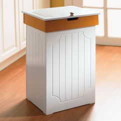 Small Recycling Bins For Kitchen Chairs On Rollers Country Trash Bin Cleaning And Storage