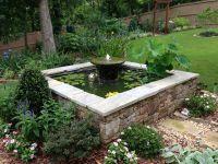 Square water pool -- Carol & Bill's garden in Georgia ...