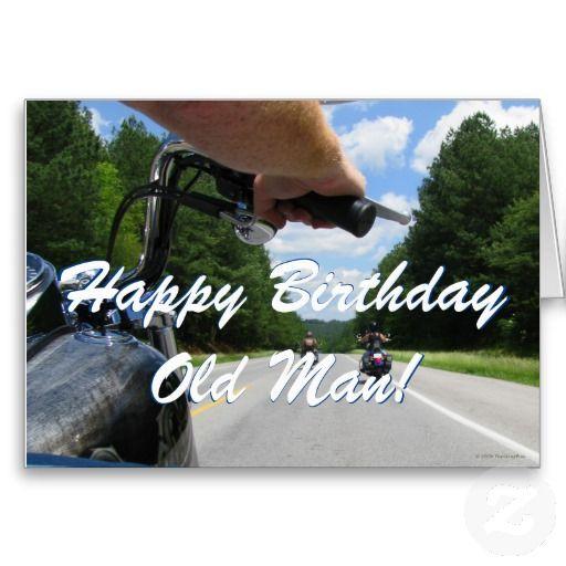 Birthday Harley Card Motorcycle