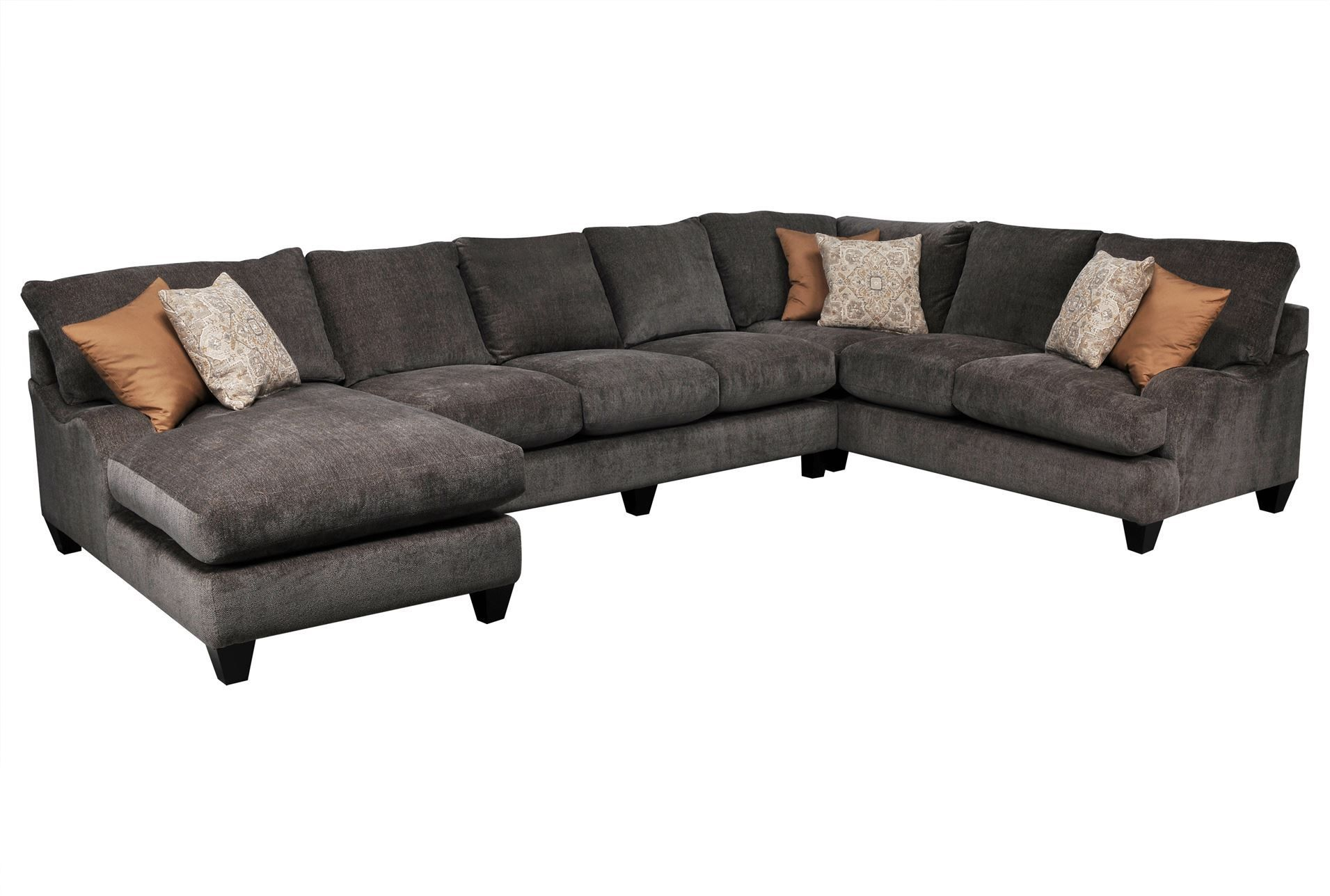 sofa w chaise where to donate my pryce 3 piece sectional laf signature 2