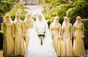 egyptian weddings. hijab bride