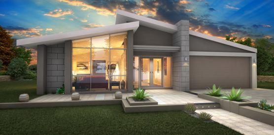 SINGLE STORY HOUSE DESIGN DISPLAY HOMES PERTH BUILDERS PERTH