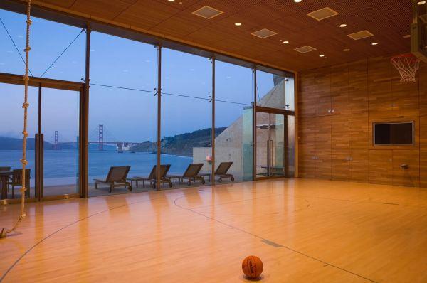 House Indoor Basketball Court
