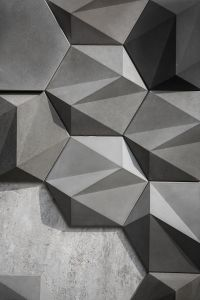 Concrete Wall Decoration - SAN on Behance | Texture ...