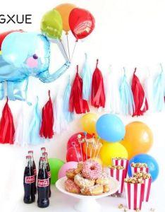 Cartoon Foil Balloons Elephant Paper Tassel Ballon Birthday Decorations Kids Toy Party Wedding Decor Also Rh
