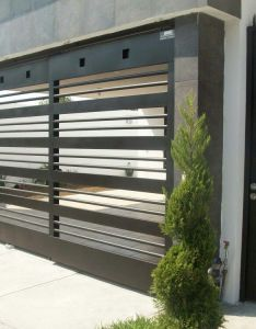 Puerta para marquesina also casas minimalistas pinterest rh