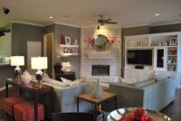Arranging Living Room Furniture With Corner Fireplace And ...