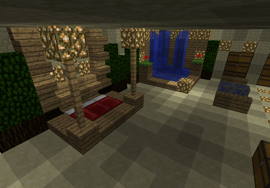 Minecraft Bedroom Ideas Minecraft Pinterest Minecraft