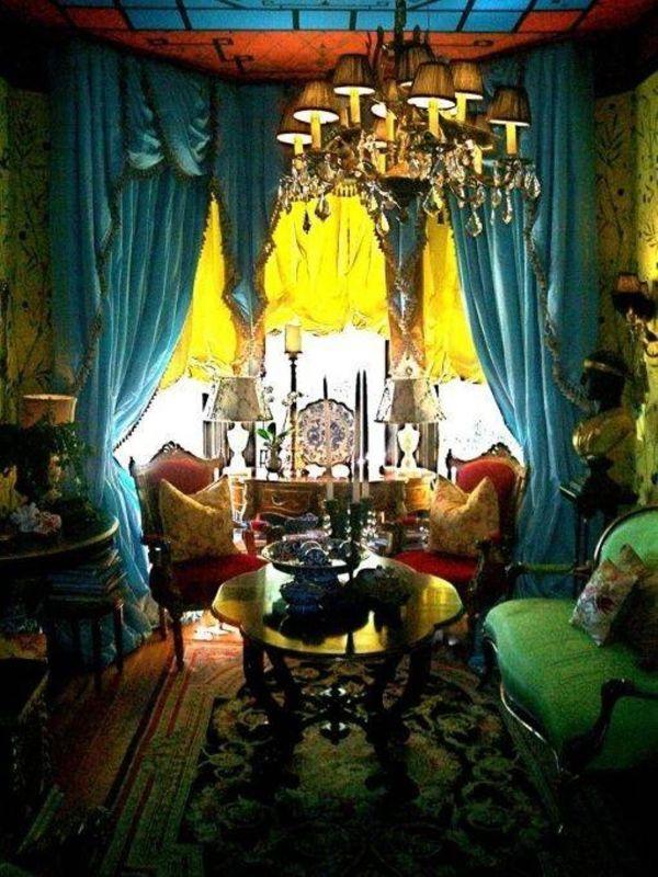 Gypsy Bohemian Living Room Ideas