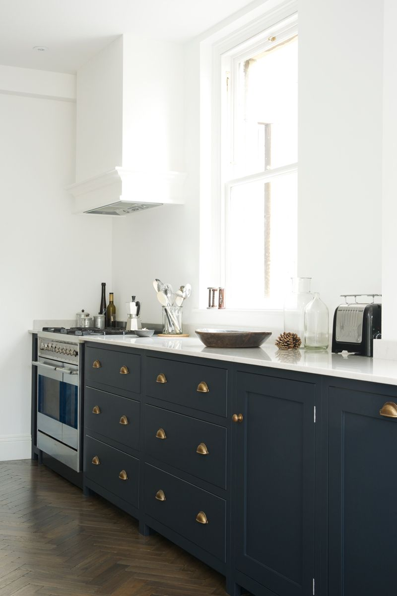 Navy cabinets  THERES NO PLACE LIKE HOME  Pinterest