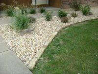 stone edging for flower beds images