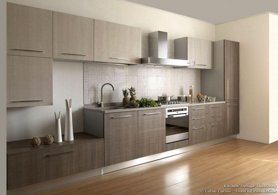 kitchen cabinets, grey, wood