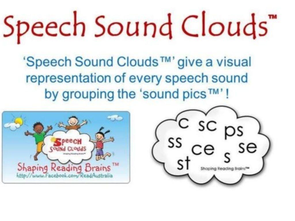 SSP Speech Sound Clouds Updated