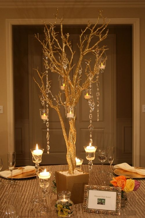 Tree Decorations For Weddings Manzanita Tree Wedding