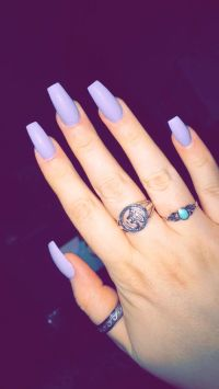 Coffin nails | Nails | Pinterest | Coffin nails, Nuggwifee ...