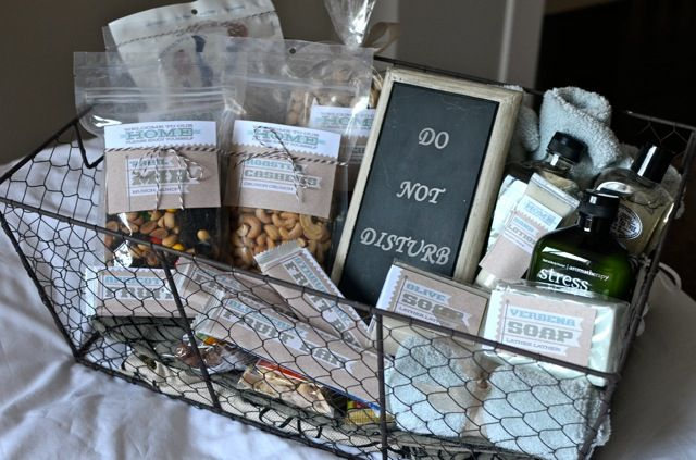 Be Our Guest! Fun Ideas For Guest Baskets Jenallyson The