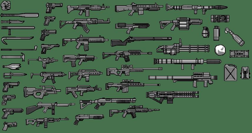 Malvorlagen Waffen