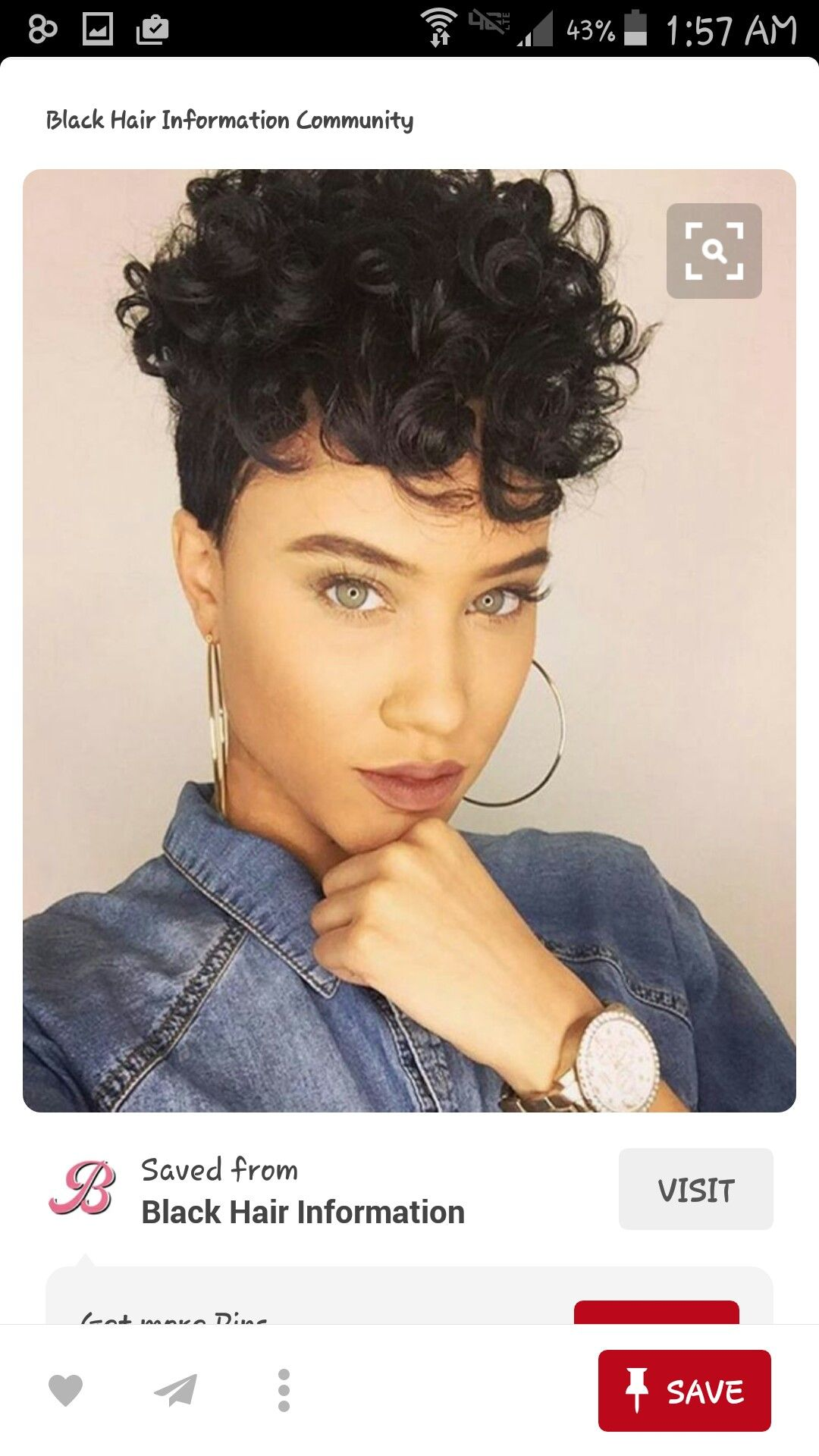 Pin by Monique Derrick on Short Hair Weaves Wigs✂