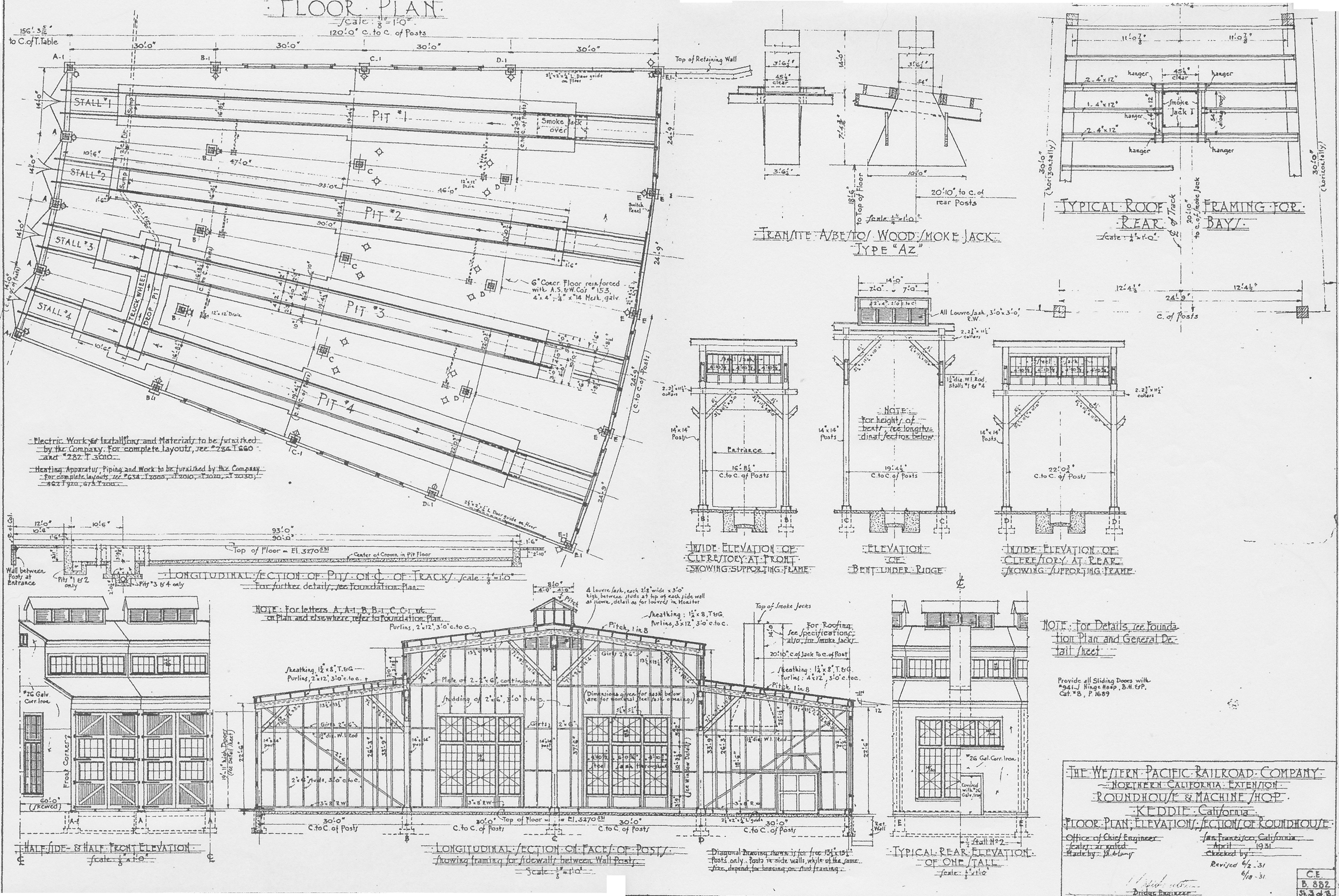 Avianpics Images Railroad 20plans Roundhouse