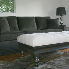 Dark Grey Sofa Cover Chair For Sale Velvet Slipcover Crush Pinterest