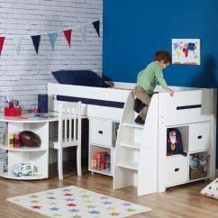 Desk Chair Tesco Office Repair Mid Sleeper With Futon