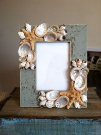 Beach Decor Seashell Picture Frame Starfish by ...