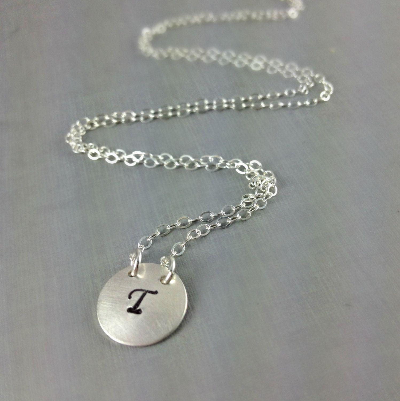 Initial Necklaces Seen Celebrities