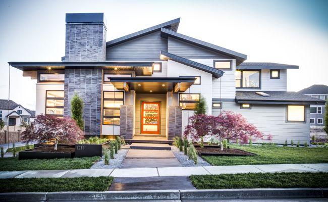 Beautiful Semi Modern Home Traditional Elegant Interior