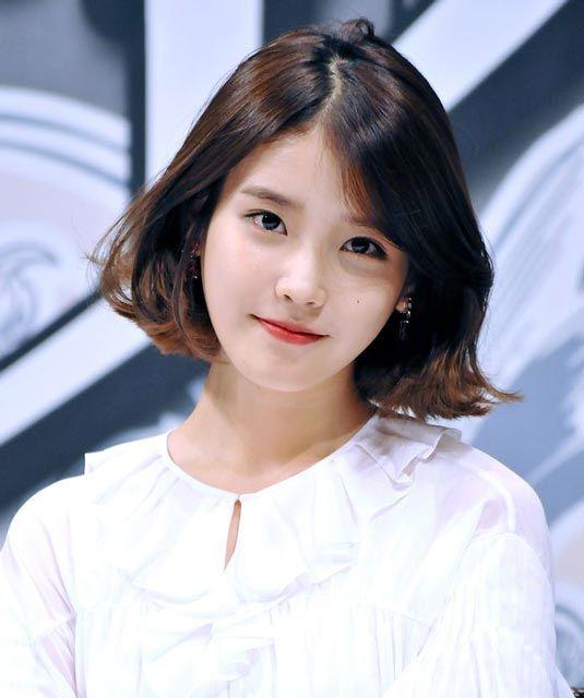 Cute IU Short Hairstyle Hairstyle Pinterest Lees Hairstyles