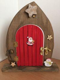PRE ORDER Elves Only Wooden Elf and Fairy Christmas Door ...