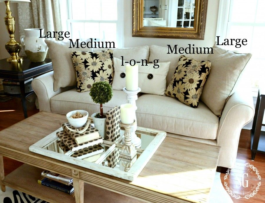 25 Best Ideas About Couch Pillow Arrangement On Pinterest