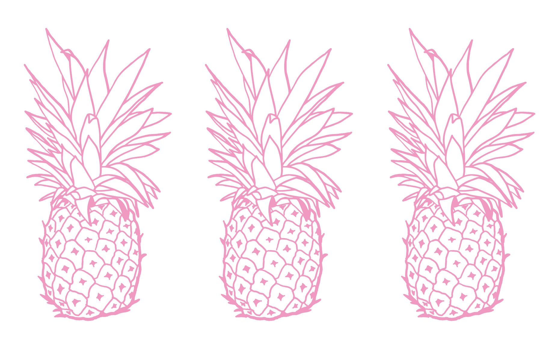 Simple Laptop Backgrounds Pineapple