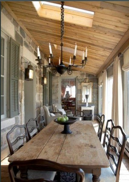 dining room addition  Plans for 4 seasons room deck