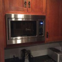 Trim Kit for a KitchenAid microwave, model # KCMS1655BSS