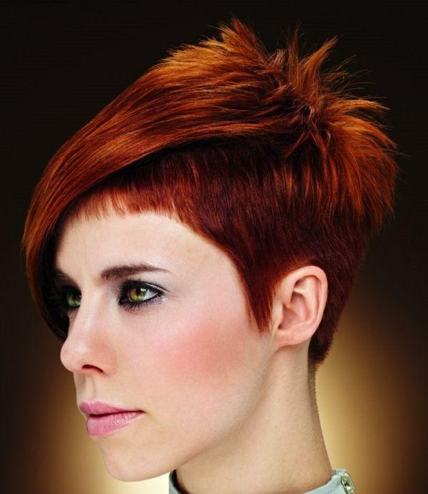 Damenfrisuren Coole Frisuren Kurze Haare Kurzhaarfrisuren