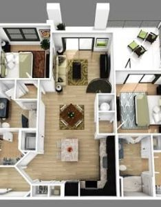 bedroom apartment floor plans  should be the comfiest corner of home also resultado de imagen para  diseno pinterest rh