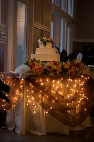 wedding cake lights how to decorate wedding cake table with lights 23086