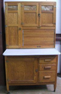 vintage kitchen hoosiers | Antique Oak Kitchen Maid ...