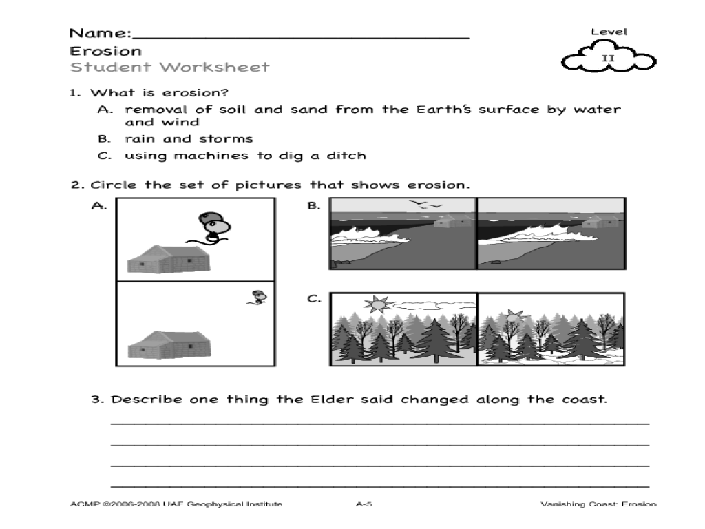 Worksheet Weathering Erosion And Deposition Worksheets Grass Fedjp Worksheet Study Site