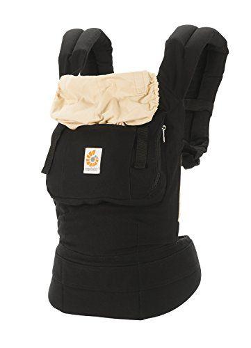 ergobaby original position baby carrier black camel er s