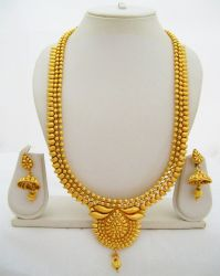 Beads Bridal Gold Necklace Set | Sets with Necklaces As a ...