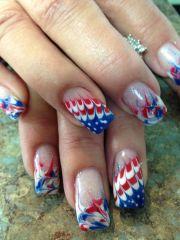 2014 4th of july nail art