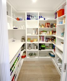 Kitchen Walk-In Pantry Design Ideas