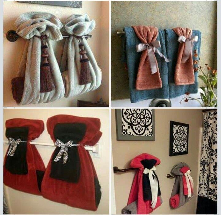 towels bathroom towel hanging ideas display most creative folding